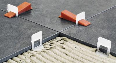Leveling systeem vloertegels